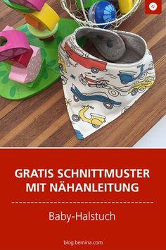 BERNINA Challenge: Nähen ohne Zuschnitt? Ein Pinguin-Babyhalstuch zum Verlieben! » BERNINA Blog