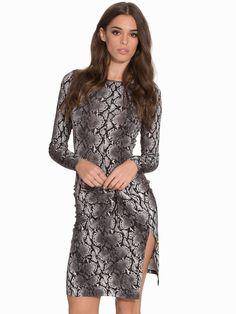 Anaconda Ls Drape Dress Michael Michael Kors Noir prix Robe de soirée Nelly,com 184.95 €