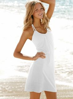 Love this halter bra top beach dress by VS ^_^ AND it's on sale! $30