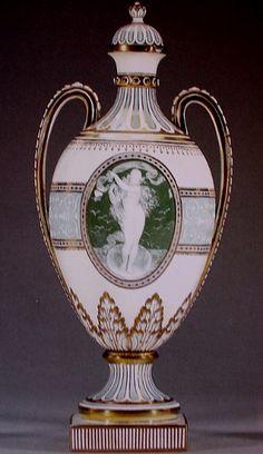 Royal Vienna Vases + Pate-Sur-Pate