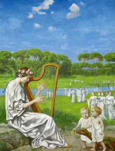 Spring Melody - Hans Thoma 1914