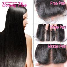 Brazilian Virgin Hair Closure Straight Brazilian Lace Closure Bleached Knots 100% Unprocessed Virgin Brazilian Straight Closure - http://jadeshair.com/brazilian-virgin-hair-closure-straight-brazilian-lace-closure-bleached-knots-100-unprocessed-virgin-brazilian-straight-closure/  Closure