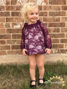 I love the Lala Spring Top from Bella Sunshine Designs! This vintage dress would look so cute on my daughter! Must buy this pdf sewing pattern!
