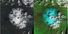 L'Etna visto dallo spazio - le spettacolari immagini | DIREGIOVANI.it