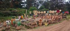 Mercado afueras Nairobi. Fotos curiosas de Kenia https://tuhobbietuviaje.com/2016/08/30/fotos-curiosas-de-kenia/
