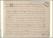 Frédéric Chopin Music Manuscript Poster - Ballade in F Major, Op. 38 fo