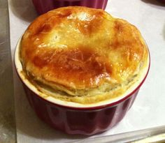 Alton Brown's Individual Pot Pie with Puff Pastry
