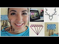 Decora y organiza tu cuarto (ideas sencillas) -♥Angy - YouTube