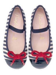 Bailarinas navy de PrettyBallerinas