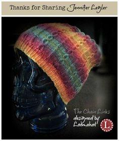 Loom Knit Slouchy - Free Pattern