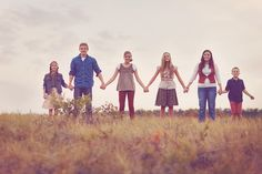 omg, 6 kiddos.  so beautiful.  love the color and warmth.  reminds me of the sound of music.  my four hens photography