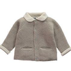 Jackpot cardigan | Beige | Knitwear | Baby Boy | Babies | Amaiakids contact@amaiakids.co.uk http://amaiakids.co.uk