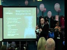 Steven Halligan Talking on why women should do weight training