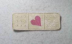 Bandaid MADE to ORDER - Choose COLOR and Size - Tutu & Shirt Supplies - Iron on Applique Patch 6908 by TheFabricScene on Etsy
