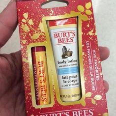 b03b10afd19 Burt s Bees Hive Favorites Holiday Gift Set Beeswax 2 Piece Set Geek Girls