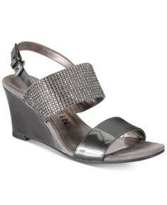 b2db204afc2e Anne Klein Elisha Dress Sandals   Reviews - Sandals   Flip Flops - Shoes -  Macy s