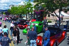 vintage cars at Car d'Alene.  Located in Coeur d' Alene, Idaho