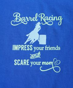 Barrel Racing  Impress your friends and scare your by LacrosseMomz, $20.00