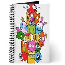 Cute Monster Journal  .....by The Ink Box....will make a Great Gift