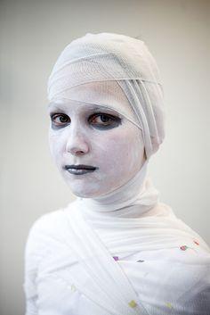 Mumien Kostüm selber machen | Kostüm Idee zu Karneval, Halloween & Fasching