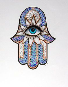 Choose your favorite hamsa drawings from millions of available designs. All hamsa drawings ship within 48 hours and include a money-back guarantee. Hamsa Drawing, Hamsa Art, Drawing Eyes, Hamsa Tattoo Design, Theme Mickey, Evil Eye Art, Mubarak Ramadan, Faith Tattoo On Wrist, Dragon Tattoo Back Piece