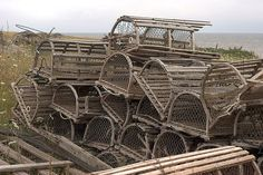 lobster traps. Railroad Line Forums - Sources of inspiration on a nautical theme