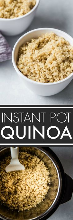 With these easy tips, you'll see it's simple to cook perfect quinoa in the Instant Pot with minimal measuring. The result is fluffy and flavorful quinoa that's super simple to prepare. #instantpot #instantpotrecipe #instantpotquinoa #quinoa #perfectquinoa via @platingspairing