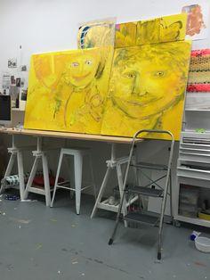 Hugs and kisses at Studio Hugs, Kisses, Paintings, Studio, Drawings, Big Hugs, Blowing Kisses, Painting Art, The Kiss