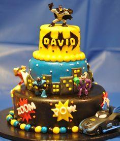 Big batman cake