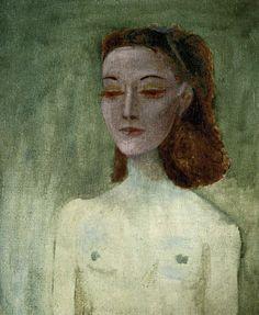 Portrait of Nusch Eluard 1941 oil/canvas Musee Picasso, Paris, France Pablo Picasso, Art Picasso, Picasso Paintings, Picasso Images, Amedeo Modigliani, Cubist Movement, Oil Canvas, Spanish Painters, Henri Matisse