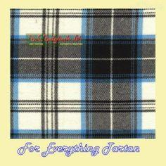 Menzies Dress Black Dalgliesh Dancing Tartan Wool Fabric 11oz Lightweight  by JMB7339 - $115.00