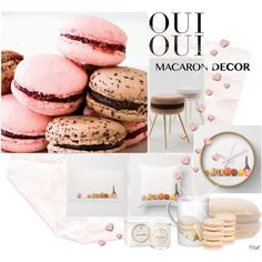 Oui,Oui:Macaron Decor by pillef on Polyvore featuring interior, interiors, interior design, home, home decor, interior decorating, Voluspa, Oui, Mikimoto and macarondecor