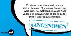 sociaal statuut_aangenomen