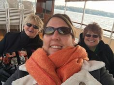 Members enjoy a boat tour at the Great Lakes Region Conference in Lake Geneva, Wisconsin.