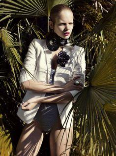 marloesru6 Marloes Horst in Vogue Russia June
