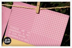 http://ohmygoodies.es  WHY DO WE MARRY? original invitations...