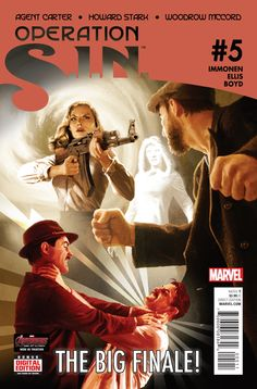 Preview: Operation: S.I.N. #5, Operation: S.I.N. #5 Story: Kathryn Immonen Art: Rich Ellis Cover: Michael Komarck Publisher: Marvel Publication Date: May 6th 2015 Price: $..., #All-Comic #All-ComicPreviews #Comics #KathrynImmonen #Marvel #MichaelKomarck #OPERATIONS.I.N. #Previews #RichEllis