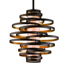 113-42 Large Pendant  748 to 1254 TOOO expensive. Could be made with some sort of cylinder .... tall glass vase (large hole drilled with dremel) or tall hurricane or cut open wine bottle. Hoops made out of wood or metal 2-3 sizes.