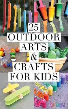 Arts crafts for adults outdoors can suggest