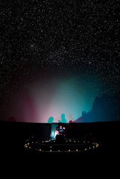Wedding Ceremony in a planetarium! Look at the stars... by mrsshotglass314, via Flickr