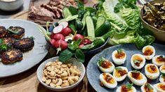Tapas, Guacamole, Food Art, Cobb Salad, Grains, Appetizers, Rice, Favorite Recipes, Lunch