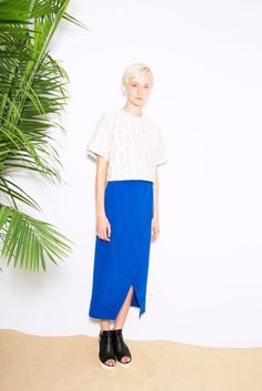 Cut25 by Yigal Azrouël Spring 2015 Ready-to-Wear - Collection - Gallery - Look 14 - Style.com