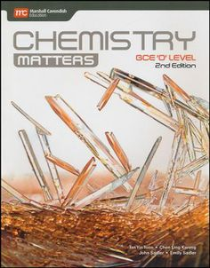 Chemistry Matters Textbook Grades 9-10 2nd Edition   -