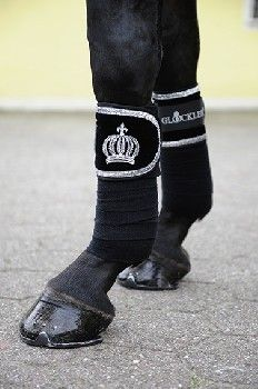 Gloockler by HKM Silver Crown wraps from SE Sport Horse I want these soooo bad!!!