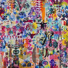 ryan mcginness | ryan mcginness untitled art history is not linear vmfa 3 2010 acrylic ...