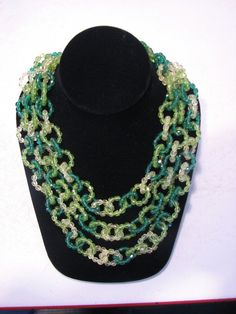 Coppola E Toppo Italian crystal necklace