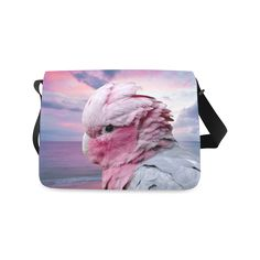 Galah Cockatoo Messenger Bag. FREE Shipping. #artsadd #bags #parrots