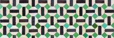 Toro by Coordonne - Black / Green - Wallpaper : Wallpaper Direct Green Wallpaper, Wallpaper Panels, Pattern Art, Color Patterns, True Colors, Colours, Paper Moon, Bathroom Wallpaper, Vintage Colors