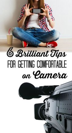 Finally - a post about getting comfortable on camera by a real mom! These tips, I can handle - great video about the tips too.