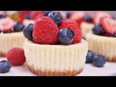 Mini Cheesecakes   Dishin' With Di - Cooking Show *Recipes & Cooking Videos*